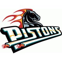Detroit Pistons Script Logo  Light Iron-on Stickers (Heat Transfers) version 2
