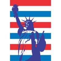 Statue of Liberty Light Iron On Stickers (Heat Transfers) version 7