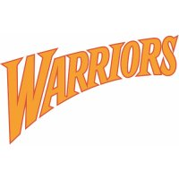 Golden State Warriors Script Logo  Light Iron-on Stickers (Heat Transfers) version 3