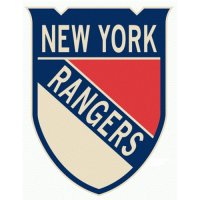 New York Rangers Alternate Logo  Light Iron-on Stickers (Heat Transfers)