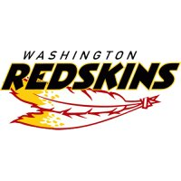 Washington Redskins Script Logo  Light Iron-on Stickers (Heat Transfers)