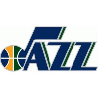 Utah Jazz Alternate Logo  Light Iron-on Stickers (Heat Transfers) version 1