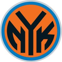 New York Knickerbockers Alternate Logo  Light Iron-on Stickers (Heat Transfers)