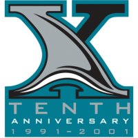 San Jose Sharks Anniversary Logo  Light Iron-on Stickers (Heat Transfers)