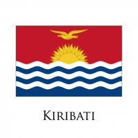 KIRIATI Flags light iron ons
