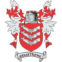 Armstrong Coat of Arms Light Iron On Stickers (Heat Transfers)