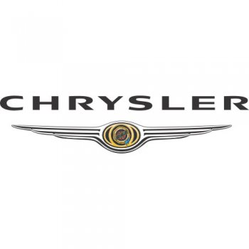 Chrysler logo Light Iron On Stickers (Heat Transfers) version 3