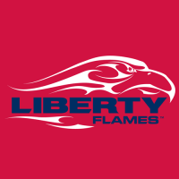 2004-Pres Liberty Flames Alternate Logo Light Iron-on Stickers (Heat Transfers)