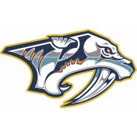 Nashville Predators Primary Logo  Light Iron-on Stickers (Heat Transfers)