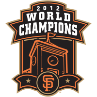 San Francisco Giants 2012 Champion Logo Light Iron-on Stickers (Heat Transfers)
