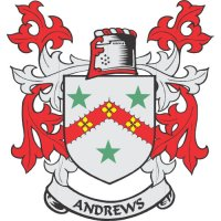 Andrews Coat of Arms Light Iron On Stickers (Heat Transfers)