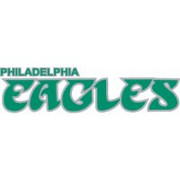 Philadelphia Eagles Script Logo  Light Iron-on Stickers (Heat Transfers)