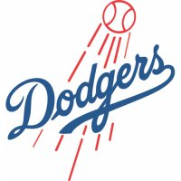 Los Angeles Dodgers Primary Logo  Light Iron-on Stickers (Heat Transfers)