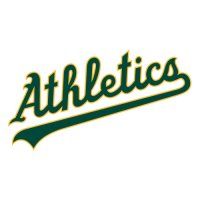 Oakland Athletics Script Logo  Light Iron-on Stickers (Heat Transfers) version 2