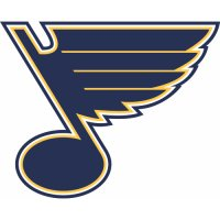 St. Louis Blues Alternate Logo  Light Iron-on Stickers (Heat Transfers)