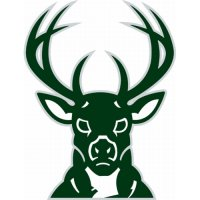 Milwaukee Bucks Alternate Logo  Light Iron-on Stickers (Heat Transfers) version 2