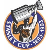 Stanley Cup Playoffs Anniversary Logo  Light Iron-on Stickers (Heat Transfers)