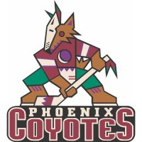 Phoenix Coyotes Primary Logo  Light Iron-on Stickers (Heat Transfers)