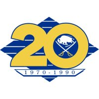 Buffalo Sabres Anniversary Logo  Light Iron-on Stickers (Heat Transfers)