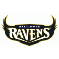 Baltimore Ravens Script Logo  Light Iron-on Stickers (Heat Transfers) version 3