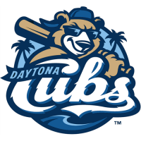 Daytona Cubs 2012-Pres Primary Logo Light Iron-on Stickers (Heat Transfers)