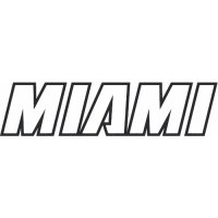 Miami Heat Script Logo  Light Iron-on Stickers (Heat Transfers) version 2
