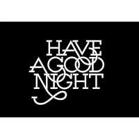 Have a good night Panda light t shirt iron on transfer