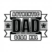 Father's Day T-shirts Light Iron On Stickers (Heat Transfers) 13