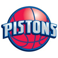 Detroit Pistons Alternate Logo  Light Iron-on Stickers (Heat Transfers) version 1