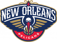 New Orleans Pelicans 2013 14-Pres Primary Logo Light Iron-on Stickers (Heat Transfers)