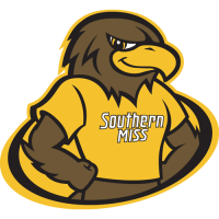 2003-Pres Southern Miss Golden Eagles Mascot Logo Light Iron-on Stickers (Heat Transfers)