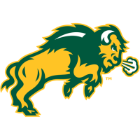 2012-Pres North Dakota State Bison Secondary Logo Light Iron-on Stickers (Heat Transfers)