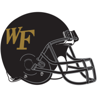 2007-Pres Wake Forest Demon Deacons Helmet Logo Light Iron-on Stickers (Heat Transfers)