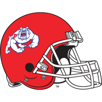 1992-2005 Fresno State Bulldogs Helmet Logo Iron On T shirt