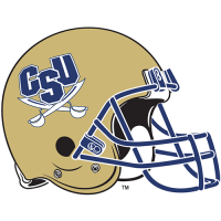 CSU Buccaneers -Pres Helmet Logo Light Iron-on Stickers (Heat Transfers)