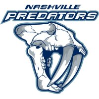 Nashville Predators Alternate Logo  Light Iron-on Stickers (Heat Transfers) version 1