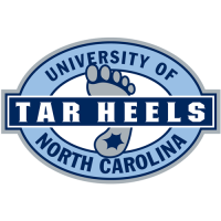 1999-Pres North Carolina Tar Heels Alternate Logo Light Iron-on Stickers (Heat Transfers)