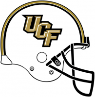 Central Florida Knights 2007-Pres Helmet Logo Light Iron-on Stickers (Heat Transfers)