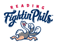 Reading Fightin Phils primary logo(2013-pres)Light Iron-on Stickers (Heat Transfers) 01