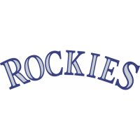 Colorado Rockies Script Logo  Light Iron-on Stickers (Heat Transfers) version 1