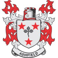 Ashfield Coat of Arms Light Iron On Stickers (Heat Transfers)