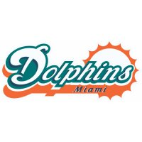 Miami Dolphins Script Logo  Light Iron-on Stickers (Heat Transfers) version 1