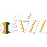 Utah Jazz Script Logo  Light Iron-on Stickers (Heat Transfers) version 1