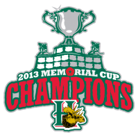 Halifax Mooseheads 2012 13 Champion Logo Light Iron-on Stickers (Heat Transfers)
