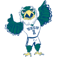1998-Pres NC-Wilmington Seahawks Mascot Logo Light Iron-on Stickers (Heat Transfers)
