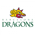Barcelona Dragons 1998-2003 Alternate Logo Light Iron-on Stickers (Heat Transfers)