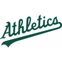Oakland Athletics Script Logo  Light Iron-on Stickers (Heat Transfers)