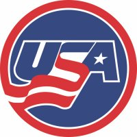 Hockey Team USA Primary Logo  Light Iron-on Stickers (Heat Transfers)