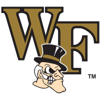 2007-Pres Wake Forest Demon Deacons Secondary Logo Light Iron-on Stickers (Heat Transfers)