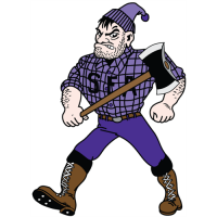 2002-Pres Stephen F. Austin Lumberjacks Mascot Logo Light Iron-on Stickers (Heat Transfers)
